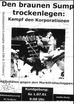Plakate, die 2001 in ganz Marburg hingen... ach, was sag' ich, im romantischen Rückblick die Plakate, in GANZ Mittelhessen hingen ;-))
